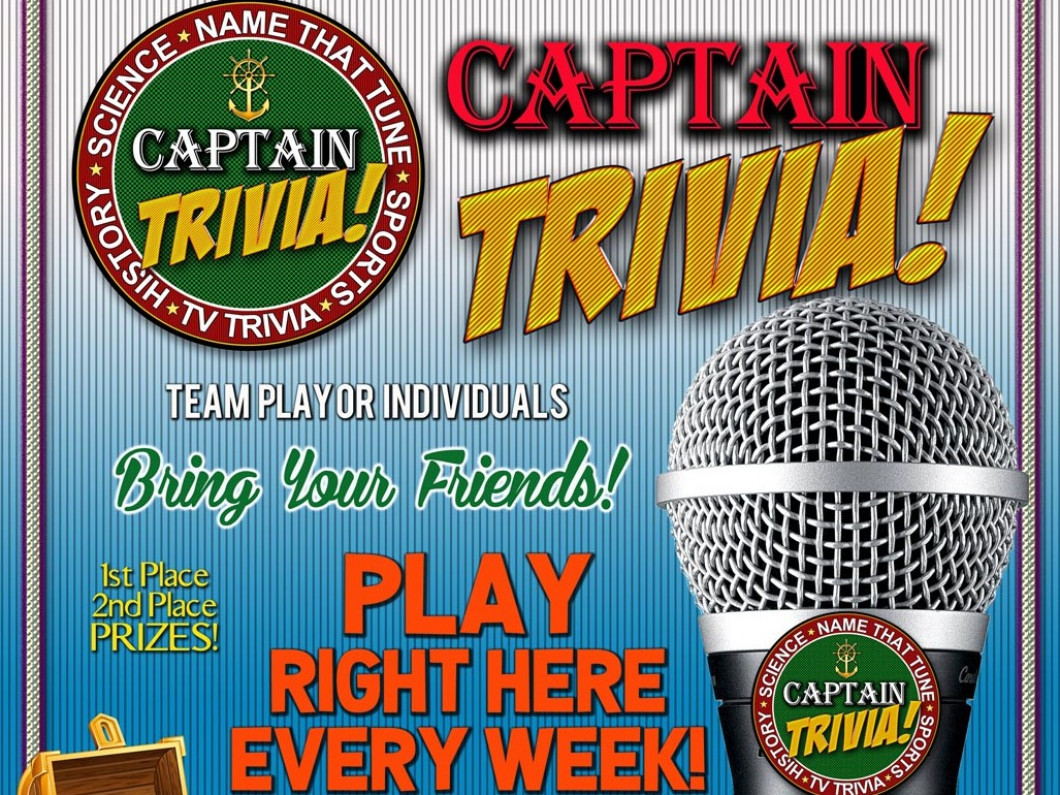 We Will Now Host TRIVIA Every Thursday Night